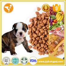 Dry pet food Nutrition health dry dog food on stock